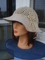 Čiapky - letný klobučik - 10336725_