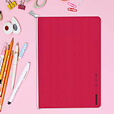 Papiernictvo - MADEBOOK - zošit A5 červený - 10336602_