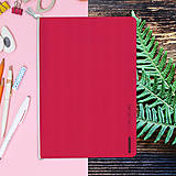 Papiernictvo - MADEBOOK - zošit A5 červený - 10336605_