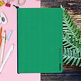 Papiernictvo - MADEBOOK - zošit A5 zelený - 10336614_