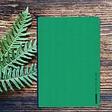 Papiernictvo - MADEBOOK - zošit A5 zelený - 10336615_