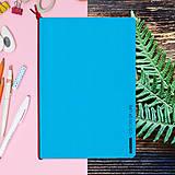 Papiernictvo - MADEBOOK - zošit A5 modrý - 10336626_
