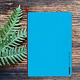 Papiernictvo - MADEBOOK - zošit A5 modrý - 10336627_
