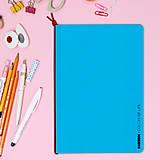 Papiernictvo - MADEBOOK - zošit A5 modrý - 10336632_
