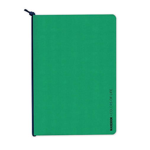 MADEBOOK - zošit A5 zelený