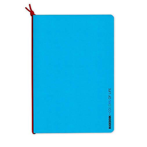 MADEBOOK - zošit A5 modrý