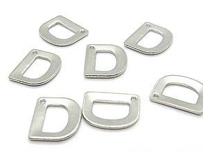Komponenty - Písmeno D /M8006/ - nerezová oceľ 304 - 10338563_