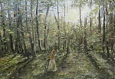 Obrazy - ,,Pokojný les