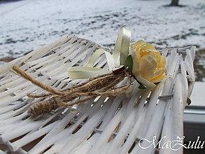 Pierka - vintage svadobné pierko VIII. - 10335907_