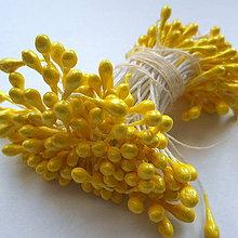 Galantéria - Piestiky do kvetín-lesklé-cca 150ks - 10337810_