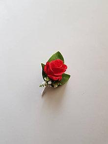 """Pierka - pierko pre rodičov, svedkov """"červená ruža"""" - 10336805_"""