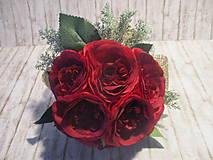 Dekorácie - Kytička ruží - 10337951_