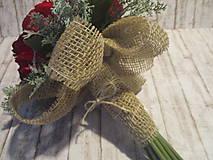 Dekorácie - Kytička ruží - 10337953_