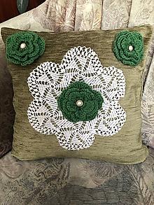 Úžitkový textil - Vankúšik aj ako ozdoba - 10336702_