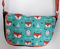 Detské tašky - Kabelka Líška - 10338400_