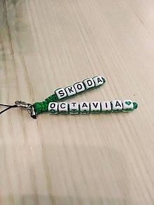Kľúčenky - Kľúčenka na auto škoda octavia - 10337727_