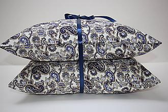Úžitkový textil - Sada polštářů-Modrý orient - 10338880_