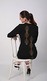 Šaty - Šaty folk III čierna - 10338114_