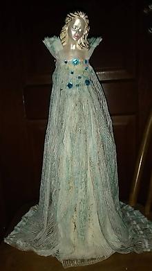 Socha - socha z paverpolu (dáma so závojom) - 10338885_