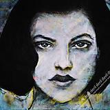 Obrazy - Portrét bez názvu - 10339749_