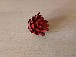 Suroviny - Plumosum červené - 10339587_