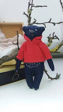 Hračky - Textilný medvedík - 10337576_