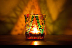 Svietidlá a sviečky - VÝPREDAJ - Svietnik - Cikcak - 10339455_