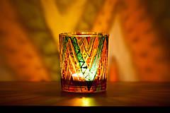 Svietidlá a sviečky - VÝPREDAJ - Svietnik - Cikcak - 10339456_