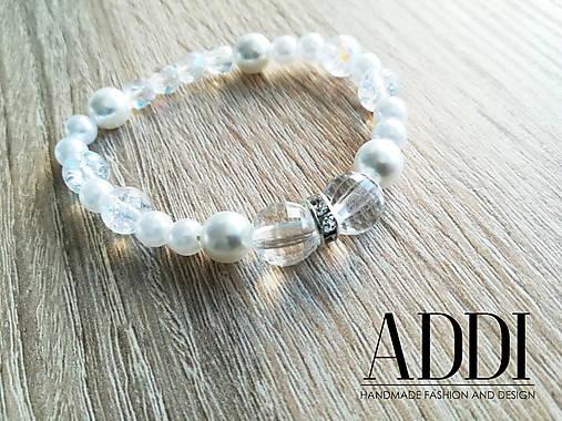 Svadobný náramok   ADDI-handmade - SAShE.sk - Handmade Náramky 5850a089bd0
