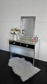 Nábytok - Kozmetický toaletný zrkadlový stolík - 10339780_