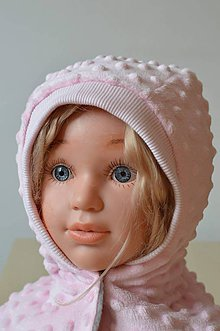 Detské čiapky - kukla do chladného počasia - 10339138_