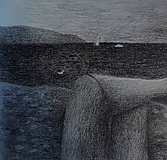 Kresby - Babie leto na pláži - 10339312_