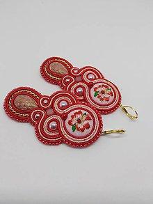 Náušnice - Romantické šujtášové náušničky - zľava - 10338069_