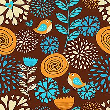 Textil - Vtáčiky - 10341833_
