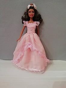 Hračky - Šaty pre bábiku Barbie - 10343630_