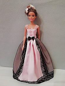 Hračky - Šaty pre bábiku Barbie - 10343643_