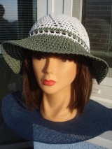 Čiapky - letný klobučik - 10343201_