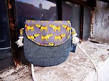Detské tašky - Detská taštička - psíci - 10342770_