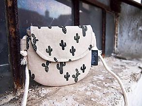 Detské tašky - Detská taštička - kaktusy - 10342602_