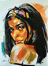 Obrazy - portrety - 10341542_