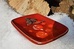 Nádoby - Mydelnička červená ohnivá, oranžová :o)). - 10341780_