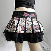 Sukne - Rocková letná sukňa - 10339878_