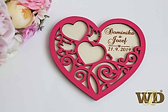 Prstene - Tanierik na obrúčky - 10343228_
