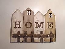 Nábytok - Vešiak na kľúče HOME - 10339813_