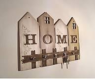 Nábytok - Vešiak na kľúče HOME - 10339814_