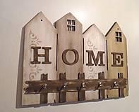 Nábytok - Vešiak na kľúče HOME - 10339815_