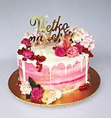 Všetko najlepšie na tortu