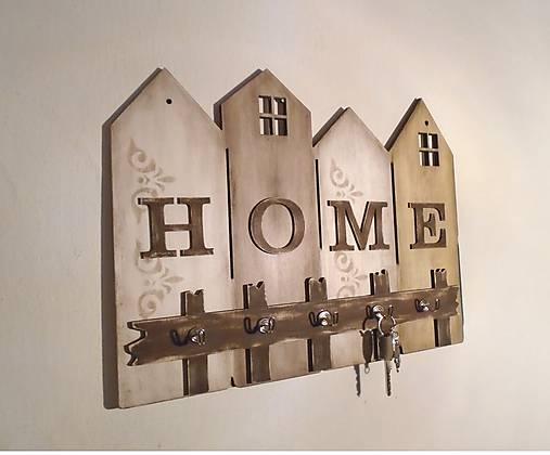 Vešiak na kľúče HOME