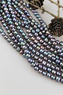 Minerály - perly prírodné 6-7mm - 10343808_