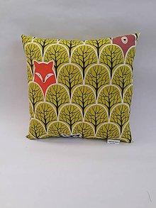 Textil - Vankúšik (Zelená) - 10342856_
